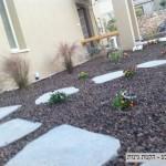 חיפוי טוף לגינה